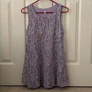 VGUC Medium Lavender PinkBlush maternity top
